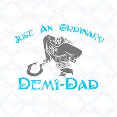 Demi-Dad SVGEPSPNGStudio