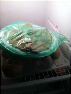 Put leftovers in an OdorNo bag to keep them fresh and your fridge odor free!