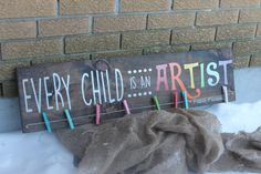 Every Child is an Artist by GlamourDesignOttawa on Etsy