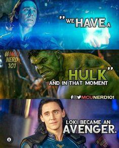 Funny Marvel Memes, Avengers Memes, Marvel Jokes, Funny Comics, Funny Memes, Hulk Memes, Marvel Films, Marvel Characters, Marvel Dc Comics