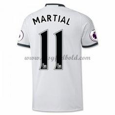 Fodboldtrøjer Premier League Manchester United 2016-17 Martial 9 3. Trøje