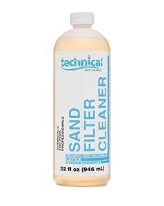 Technical Pool Solutions Sand Filter Cleaner 32 oz Techni... http://www.amazon.com/dp/B01AGKV24G/ref=cm_sw_r_pi_dp_SQ9nxb1DN49GB