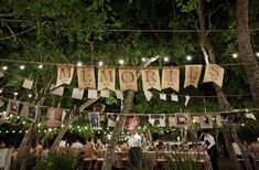 love this!!  what a fun way to showcase family and friends memories of the bride and groom