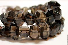 Купить РАУХТОПАЗ (Smoky TOPAZ) - ( ИНДИЯ ).№116 - коричневый, раухтопаз, камни