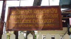 Guest House Khonesavanh. #LuangPrabang #Laos