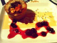 vanilla cupcake with berries