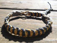 Dedicated to Jase #bracelet #brain_cancer #childhood_cancer #designs #donate #fiber #fundraiser #gold #grey #hemp #hempnotic #jase #jewelry #support
