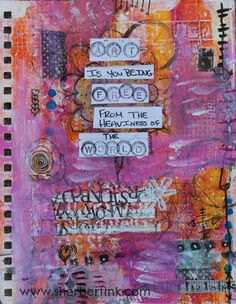 Art Journal page from SherbertInk