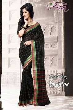 SOLD OUT code:ed black Price:2999/- New Catalogue, Happy Shopping, Blouse Designs, Love Story, Cool Designs, Sari, Elegant, Cotton, Beauty