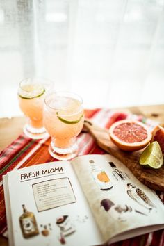 Fresh Paloma Cocktail Recipe | photo by Sweet Louise Photography | Camille Styles