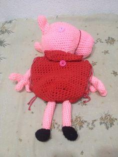 Peppa pig echa a crochet