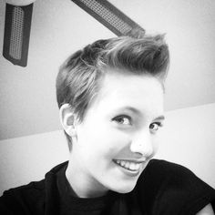 New Hair Cut :D #pixie #pixiecut @pixienation #shorthair #selfie by emilymusic91http://ift.tt/1poS8SK