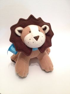 Plush Lion by LittleLuckies2 on Etsy, $40.00