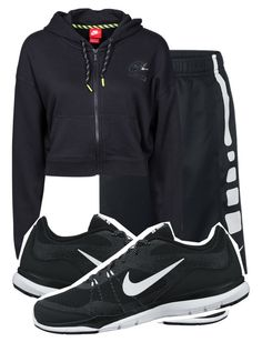 """""""baller."""" by queensimi ❤ liked on Polyvore featuring NIKE"""