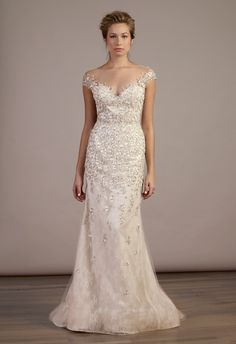 Liancarlo Spring 2015 | The Knot Blog, this in white would be amazing............ ahhhhhhhh