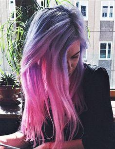 Vegan Virgin Pink Dye & Aquamarine Hair dye by marymisantropic - #haircolor #hairdye #hairstyle