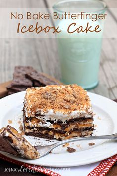 No-bake ice box cakes are a big favorite at my house. There's just something wonderful about layers of sweet graham cracker, pudding and whipped cream. And there are so many possibilities with iceb...