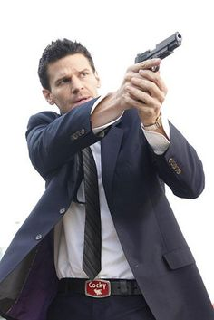 David Boreanaz as Special Agent Seeley Booth of the FBI from BONES.