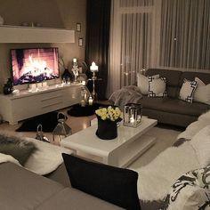 Classy living rooms interior designs classy living rooms room decor classy living room design ideas home . Cozy Living Rooms, Apartment Living, Home And Living, Living Room Decor, Living Spaces, Small Living, Studio Apartment, Cozy Apartment, Apartment Ideas