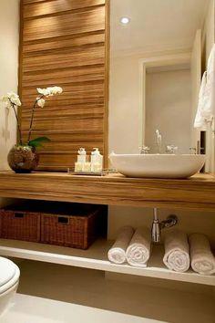 baño bonito accesorios