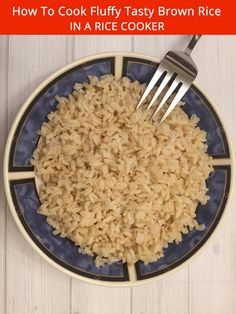 How to cook fluffy tasty brown rice in a rice cooker brown rice how to cook fluffy tasty brown rice in a rice cooker brown rice and rice ccuart Images
