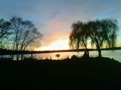 Can't get  much better than this sunset on Prior Lake!