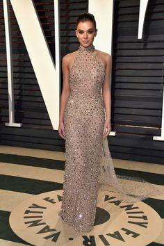 Hailee Steinfeld at the 2017 Vanity Fair Oscar Party