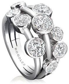 Boodles Medium Raindance Ring