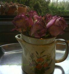 Roses in lemon sqeezer