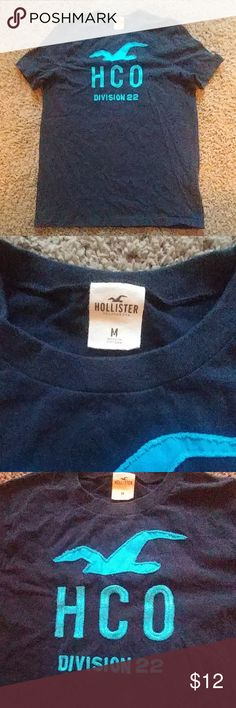 Men's Hollister Tee Gently used men's tee Hollister Shirts Tees - Short Sleeve