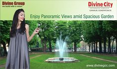 Every natural element in #DivineCity is placed nicely by architects. Therefore, residents will surely enjoy phenomenal panoramic views amid spacious garden.