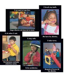 Bilingual Reminder Poster Set 2 Chart - Carson Dellosa Publishing Education Supplies