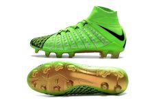 782b87518ad5 Nike Hypervenom Phantom III DF FG Cleats Green Black Top Soccer, Nike Soccer,  Soccer