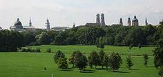 Englischer Garten (Munich) – one of the world's biggest city parks! Even bigger than NY Central Park.