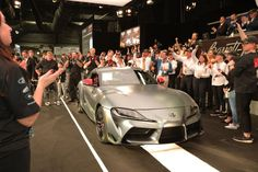 2020 Toyota Supra Auction at Barrett-Jackson 04 Toyota Supra, Bmw Z4, Bmw Electric, Automobile, Barrett Jackson Auction, Cabriolet, Chevrolet Cruze, Sports Sedan, Best Classic Cars