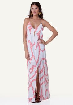 Vix Coral Nora Dress | Beach Café UK
