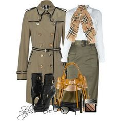 Stylish Outfits for Women | Burberry-Winter-2013-Outfits-for-Women-by-Stylish-Eve_06