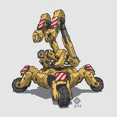 Robot sketch day 17 by Docslav---GE.deviantart.com on @DeviantArt