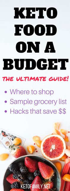 Keto grocery shopping on a budget doesn't have to be complicated. Here's your detailed guide on what you can do from start to finish to save hundreds on your groceries (without depriving yourself)!