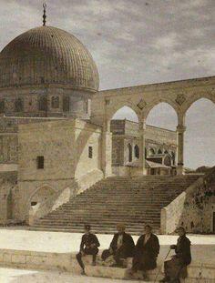 القدس - فلسطين 1925م Jerusalem-Palestine 1925
