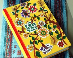 Daybook looks illustrative with  Mithila Arts on it
