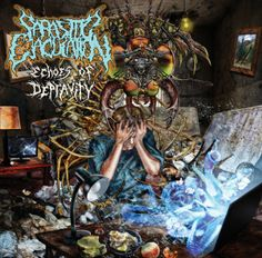 Review: Parasitic Ejaculation - Echoes of Depravity (Brutal Death/Slam)