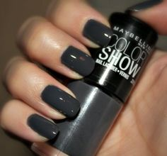 """Maybelline Color Show """"Impeccable Greys"""""""