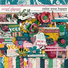 Color Your Happy by Amanda Yi, Brook Magee & Captivated Visions