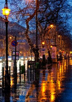 Budapest, Hungary Rainy day on Andrássy street. Romance is in the air! Rain Photography, Street Photography, Cityscape Photography, Beautiful World, Beautiful Places, Beautiful Pictures, City Rain, I Love Rain, Rain Days