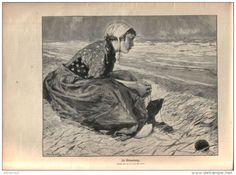 In Erwartung (Hans von Bartels)  / Artikel ,entnommen  aus Zeitschrift / 1910