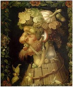 Les quatre saisons d'Arcimboldo: fleurs, fruits, portraits composés - archéologie du futur / archéologie du quotidien