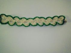 Hand Crocheted Lacy Bracelet by artistrcool on Etsy, $6.00