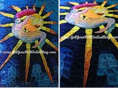 Dream on a Beam - by: Kristen-Get your Roll on Quilling