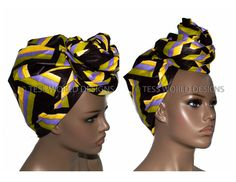 The edges of this scarf or head wrap are tailored for immediate use and made from cotton fabric. Long and wide enough to wrap rasta style. Tired of wrapping? use as a scarf or sash. Approximate measur